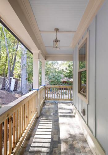 07 Fry Side Deck - New Single Family Home Custom Construction