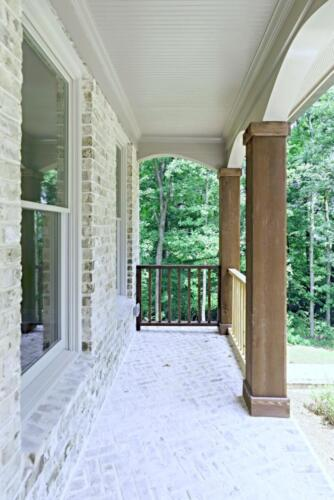 08 Dick Front Porch - New Single Family Home Custom Construction