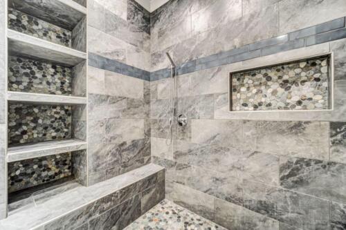 01 Nolan Shower Built-in - New Single Family Home Custom Construction