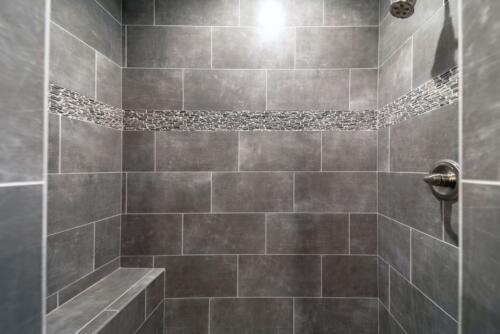 02 Fry Shower - New Single Family Home Custom Construction