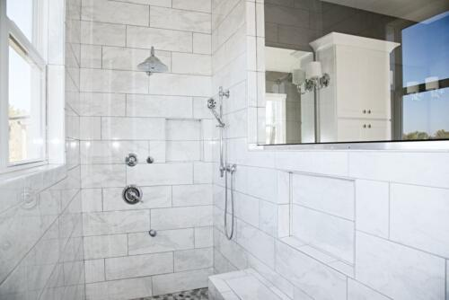 10 Cox Shower 3 - New Single Family Home Custom Construction