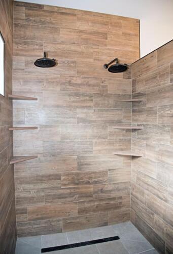 11 Dan Joe Shower - New Single Family Home Custom Construction