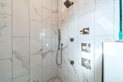 13 J. Snider Shower - New Single Family Home Custom Construction