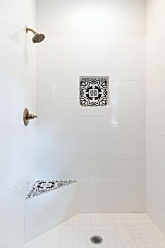 15 Lutz Shower 1 - New Single Family Home Custom Construction
