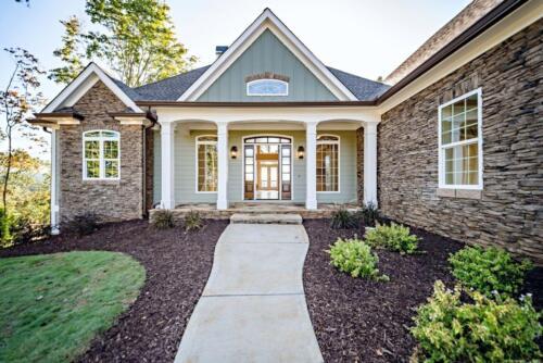 02 - Ellijay GA New Single Family Custom Home Construction