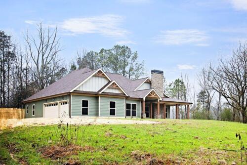 01 | Fairmount GA New Single Family Custom Home Construction | The Parris Floor Plan