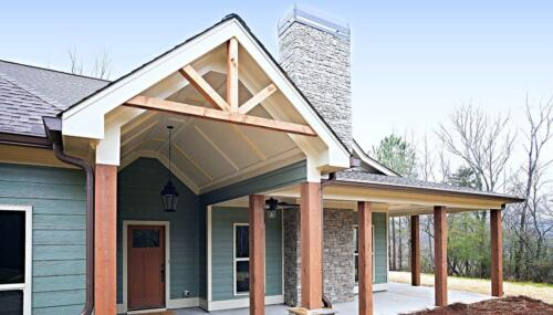 02 | Fairmount GA New Single Family Custom Home Construction | The Parris Floor Plan