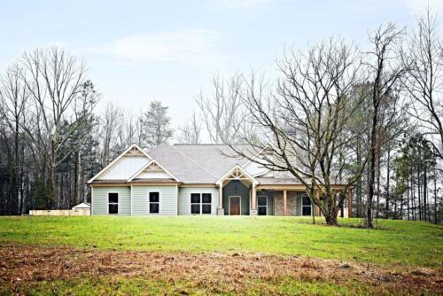 03 | Fairmount GA New Single Family Custom Home Construction | The Parris Floor Plan