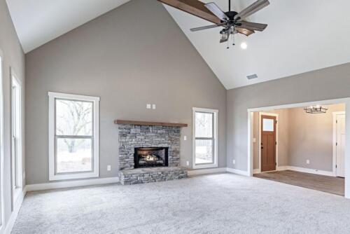 06 | Fairmount GA New Single Family Custom Home Construction | The Parris Floor Plan