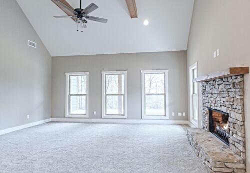 08 | Fairmount GA New Single Family Custom Home Construction | The Parris Floor Plan