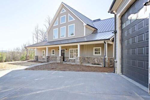 01 | Jasper GA New Single Family Custom Home Construction | The Elsberry Floor Plan