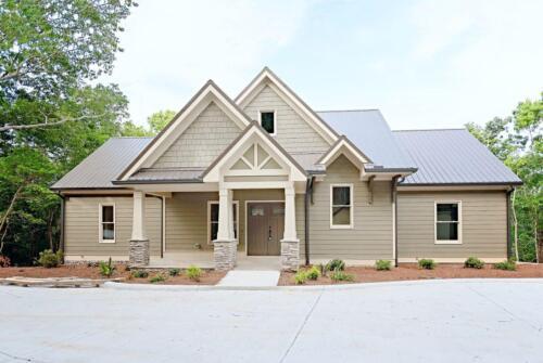 01 | Jasper GA New Single Family Custom Home Construction | The George Floor Plan