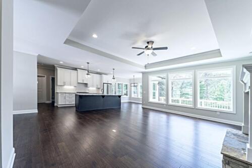 02 - 4 Bedroom 3 Bath   Open Floor Plan   2694 heated square feet - Lake Arrowhead GA New Single Family Custom Home Construction