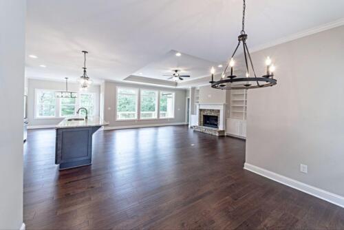 03 - 4 Bedroom 3 Bath   Open Floor Plan   2694 heated square feet - Lake Arrowhead GA New Single Family Custom Home Construction