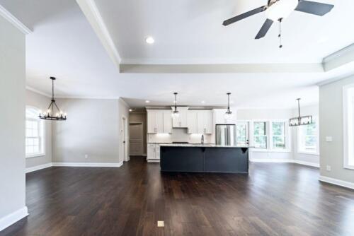 04 - 4 Bedroom 3 Bath   Open Floor Plan   2694 heated square feet - Lake Arrowhead GA New Single Family Custom Home Construction