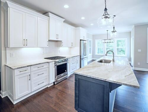 05 - 4 Bedroom 3 Bath   Open Floor Plan   2694 heated square feet - Lake Arrowhead GA New Single Family Custom Home Construction