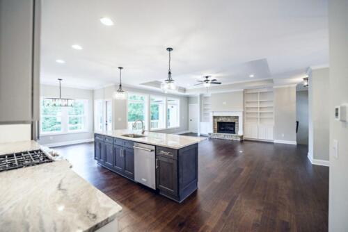 06 - 4 Bedroom 3 Bath   Open Floor Plan   2694 heated square feet - Lake Arrowhead GA New Single Family Custom Home Construction