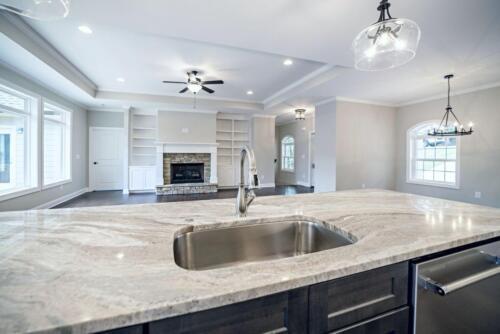 07 - 4 Bedroom 3 Bath   Open Floor Plan   2694 heated square feet - Lake Arrowhead GA New Single Family Custom Home Construction