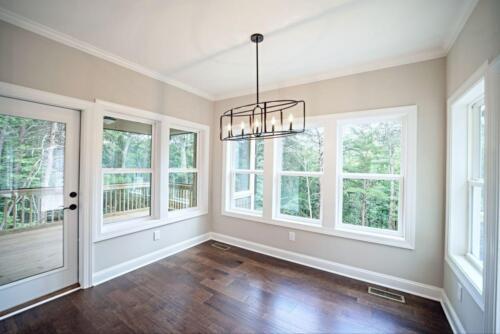 08 - 4 Bedroom 3 Bath   Open Floor Plan   2694 heated square feet - Lake Arrowhead GA New Single Family Custom Home Construction