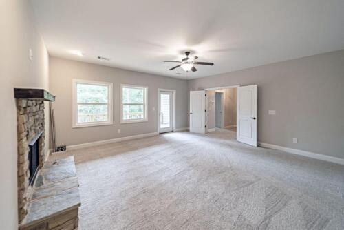 23 - 4 Bedroom 3 Bath   Open Floor Plan   2694 heated square feet - Lake Arrowhead GA New Single Family Custom Home Construction
