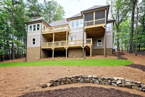 28 - 4 Bedroom 3 Bath   Open Floor Plan   2694 heated square feet - Lake Arrowhead GA New Single Family Custom Home Construction