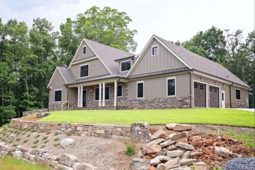 01 | Cartersville GA New Single Family Custom Home Construction | The Sullivan Floor Plan
