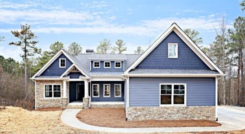 01   Talking Rock GA New Single Family Custom Home Construction   The Mullen Floor Plan