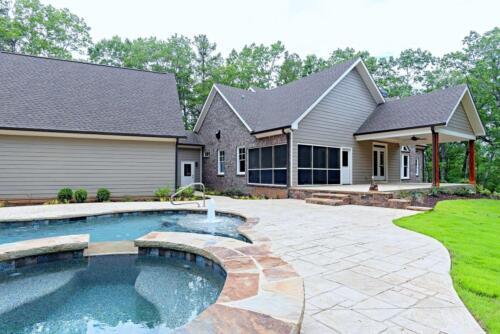 45 | Cartersville GA New Single Family Custom Home Construction | The Carrigan Floor Plan