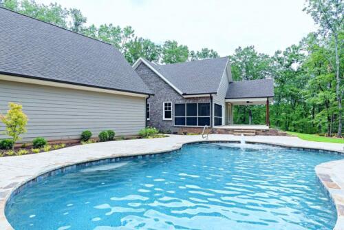47 | Cartersville GA New Single Family Custom Home Construction | The Carrigan Floor Plan