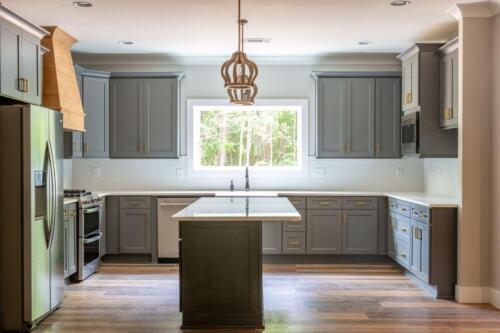 Acworth GA New Single Family Custom Home Construction   The Hartman Plan in Cobb County GA