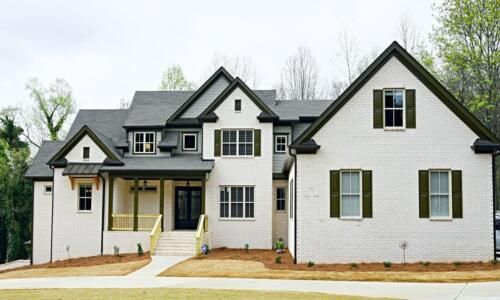 01 | Cartersville GA New Single Family Custom Home Construction | The McCoy Floor Plan