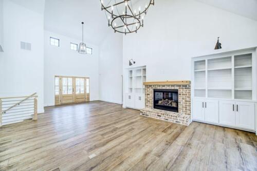 04 | Holly Springs GA New Single Family Custom Home Construction | The Wall Floor Plan
