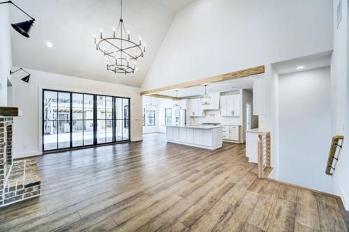 06 | Holly Springs GA New Single Family Custom Home Construction | The Wall Floor Plan