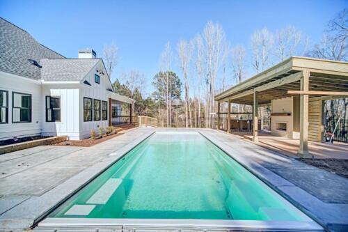 36 | Holly Springs GA New Single Family Custom Home Construction | The Wall Floor Plan