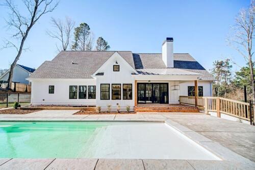 37 | Holly Springs GA New Single Family Custom Home Construction | The Wall Floor Plan