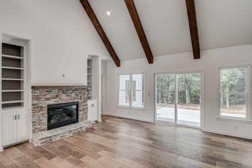 Milton GA New Single Family Custom Home Construction | The Wenig Plan in Fulton County GA