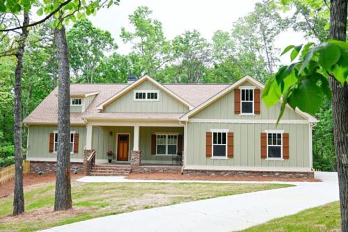 01   North GA New Single Family Custom Home Construction   The Waites Floor Plan
