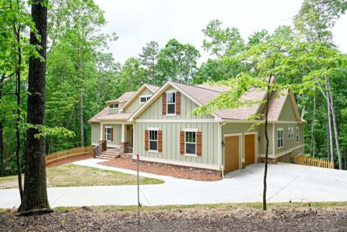 02   North GA New Single Family Custom Home Construction   The Waites Floor Plan