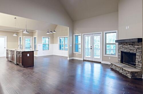 02 | Waleska GA New Single Family Custom Home Construction | The Ray Floor Plan